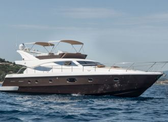 FERRETTI 620 YACHT FOR CHARTER