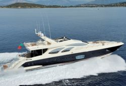 An Azimut 100 yacht for charter in Corsica