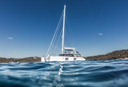 Sailing Yacht Catamaran Sunreef 60 for Charter Sardinia