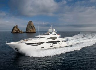SUNSEEKER 131 YACHT FOR CHARTER