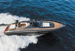 Riva 63 Virtus boat for charter French Riviera - underway