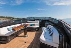 Riva 63 Virtus yacht rental French Riviera - cockpit