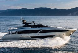 Riva 110 Dolcevita yacht for charter French Riviera - cruising in the south of France