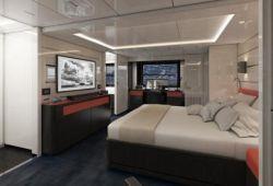 Arcadia 105 - master cabin