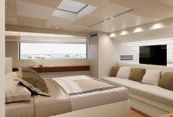 Sanlorenzo SL106 - master suite