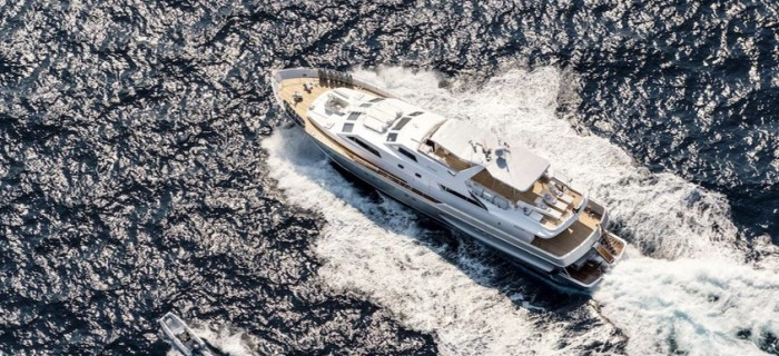 A yacht available for event yacht charters on the French Riviera and Cannes events
