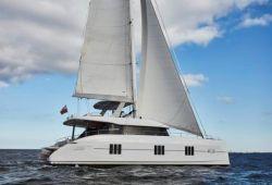Sunreef 60 catamaran yacht for charter Corsica - cruising