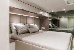 OCA Sunreef 60 catamaran boat rental - double cabin