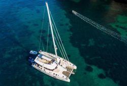 OMBRE BLU Sunreef 70 catamaran boat rental