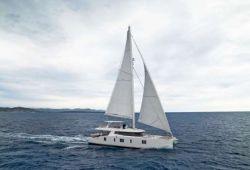 Sunreef 74 catamaran yacht for charter Corsica - cruising