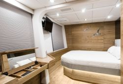 CALMAO Sunreef 74 catamaran boat rental - double cabin