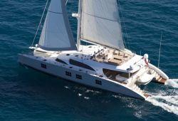 Sunreef 102 catamaran yacht for charter Corsica - cruising