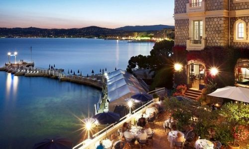 South of France yacht rental honeymoon Hotel Belles Rives