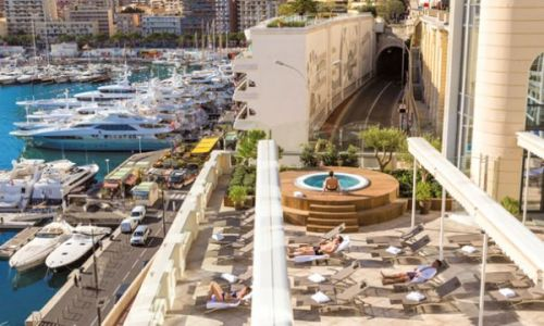 South of France yacht rental honeymoon Les Thermes Marins in Monte-Carlo Monaco