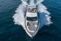 Sunseeker Manhattan 66 boat  for charter French Riviera - underway