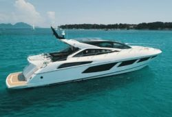 Sunseeker Predator 68 yacht for charter French Riviera - cruising in the south of France