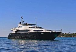 Sunseeker 34m yacht for charter French Riviera - cruising in the south of France