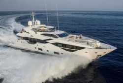 Sunseeker 116 yacht for charter French Riviera - cruising in the south of France