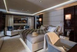 Sunseeker 116 - master cabin