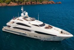 Sunseeker 37m yacht for charter French Riviera - cruising in the south of France