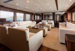 Sunseeker 37m yacht rental French Riviera - salon