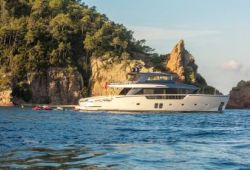 Sanlorenzo SX88 yacht for charter French Riviera - cruising in the south of France