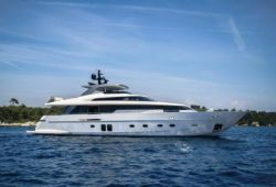 Sanlorenzo SL96 yacht for charter French Riviera - cruising in the south of France