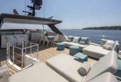 Sanlorenzo SL96 boat for charter French Riviera - flybridge
