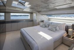 Sanlorenzo SL96 - master  cabin
