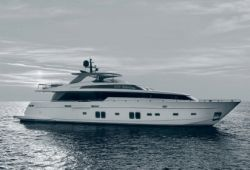Sanlorenzo SL106 yacht for charter French Riviera - cruising in the south of France