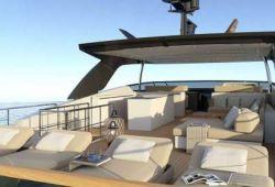 Sanlorenzo SL106 boat for charter French Riviera - flybridge