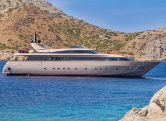 BAGLIETTO 120 YACHT FOR CHARTER