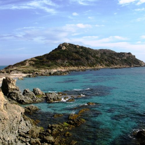 The idyllic anchorage of Cap Taillat ideal for a yacht charter
