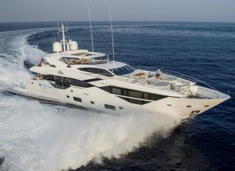 SUNSEEKER 116 YACHT FOR CHARTER