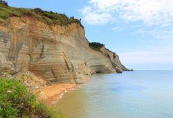 Logas Beach on Corfu Island