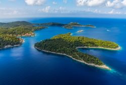 Mljet National Park and its lush islands in Croatia
