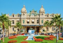 The stunning Belle Epoque Casino of Monaco and its gardens