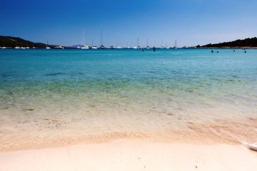 The beach of Saharun in the region of Zadar in Croatia