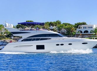 PRINCESS 64 YACHT FOR CHARTER