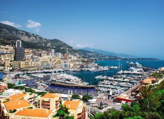 Yacht charter Monaco Grand Prix in Port Hercule, yacht rental Monaco Grand Prix