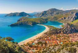 The resort of Ölüdeniz on the Turkish Riviera