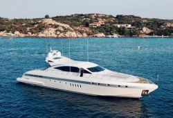 Mangusta 92 yacht for charter French Riviera - cruising in the south of France