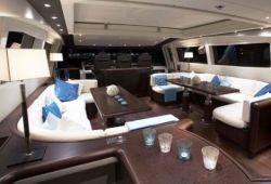 Mangusta 92 yacht rental French Riviera - salon