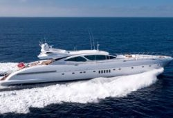 Mangusta 130 yacht for charter French Riviera - cruising in the south of France