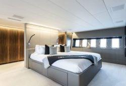Mangusta 130 - master cabin