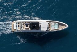 Mangusta Oceano 43 boat for charter French Riviera - aerial view