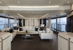 Mangusta Oceano 43 yacht rental French Riviera - salon