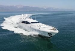 Mangusta 165E yacht for charter French Riviera - cruising in the south of France