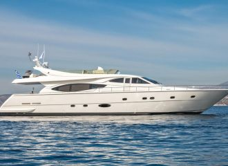 FERRETTI 77 YACHT FOR CHARTER
